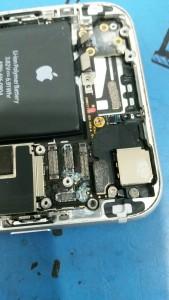 liquid damaged phones