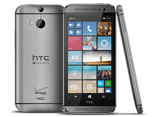 HTC One M8 (silver)