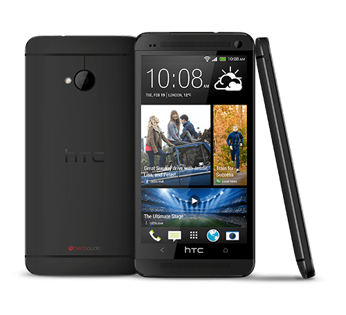 HTC One M7 (black)